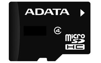 A-DATA micro SDHC 32 GB class 4 + adapter (AUSDH32GCL4-RA1)