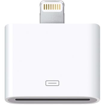 Apple Lightning - 30pin Dobíjecí Adapter OEM (EU Blister)