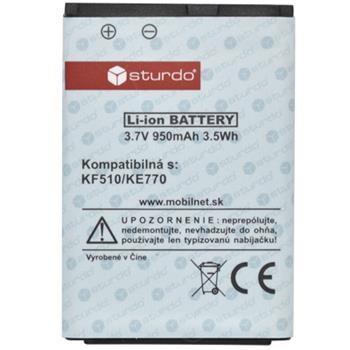 Batéria LG KF510/KE770 (GB102, GB110,KF310,KG238,KG275,KG375,KG77,KG770,KP100,KP105)