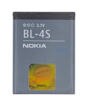 BL-4S Nokia baterie 860mAh Li-Ion (Bulk) (2680s,3600s,3710f,7020,7100s,7610,X3) (2500000165993)