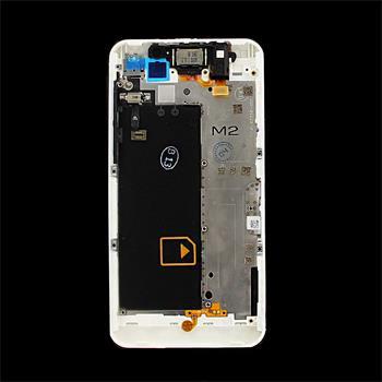 BlackBerry Z10 White Kompletní Střední Díl