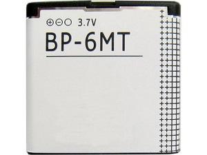 BP-6MT Nokia baterie 1050mAh Li-Ion (Bulk) (6720c,E51,N81,N81,N82)