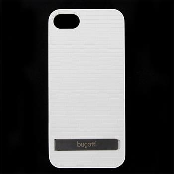 Bugatti Clip on Cover Premium Zadní Kryt White pro iPhone 5/5S