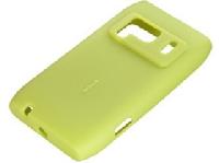 CC-1005 Nokia N8 Silikonové pouzdro Green/Lime (Bulk)