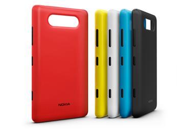 CC-3041 Nokia Lumia 820 ochranný kryt pro nabíjení Matt Cyan (EU Blister)
