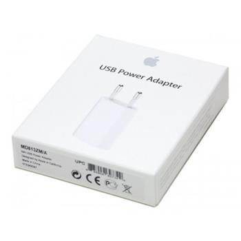 Cestovná nabíjačka Apple iPhone MD813ZM originál USB 5w 1A (EU Blister)