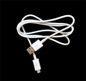 ECB-DU4AWE Samsung microUSB Datový Kabel White (Bulk)