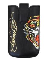 Ed Hardy Univerzální Kožené Pouzdro Tiger Black (EU Blister)