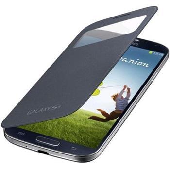 EF-CI950BBE Samsung Flip Pouzdro S-View pro Galaxy S IV (i9500) Black (Bulk)