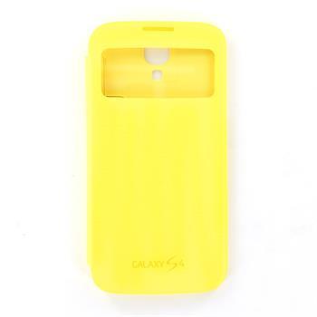 EF-CI950BYE Samsung Flip Pouzdro S-View pro Galaxy S IV (i9500) Yellow (EU Blister) (8806085686366) (63762)