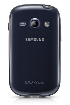 EF-PS681BLE Samsung Zadní Kryt Modrý pro Galaxy Fame S6810 (EU Blister)