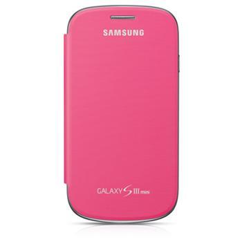 EFC-1M7FPE Samsung Flip Pouzdro pro Samsung Galaxy S3mini i8190/i8195/i8200VE Pink (EU Blister)