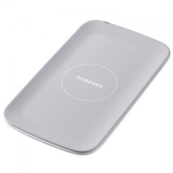 EP-P100IEW Samsung Podložka pro Bezdrátové Dobíjení pro i9500 S4 White (EU Blister)