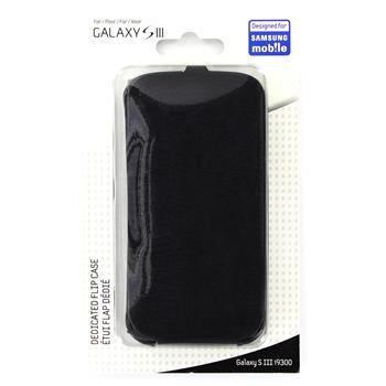 ETUISMGS3B Samsung Original Flip Pouzdro pro (i9300/S3 i9301 Neo) Čierne (EU Blister)