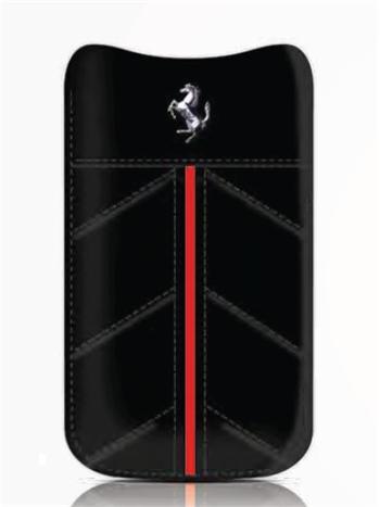 FECFSLMB Ferrari California Kožené Pouzdro Čierne vel. M
