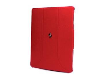 FEFFFCNPRE Ferrari Kožené Folio Pouzdro Red pro the New iPad