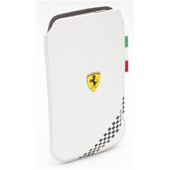 FEFOSLMW Ferrari Formula 1 Universal Kožené Pouzdro White vel. M
