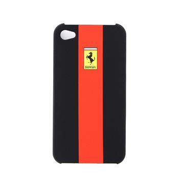 FERU4GRE Ferrari Zadní Kryt iPhone 4/4S Black Red