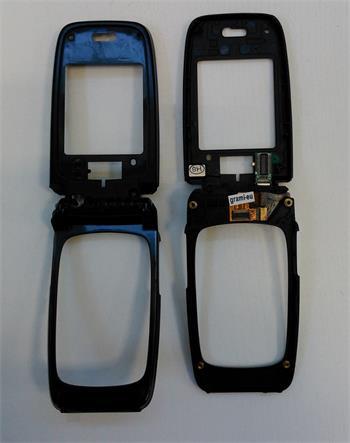 Flex kábel Nokia 6101 - prepojovací flex kábel + stredový kĺb + vnútorný kryt, rám