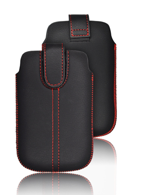 ForCell Chic Ultra Slim M4 Pouzdro Black pro Desire C, S6500, S5360,...