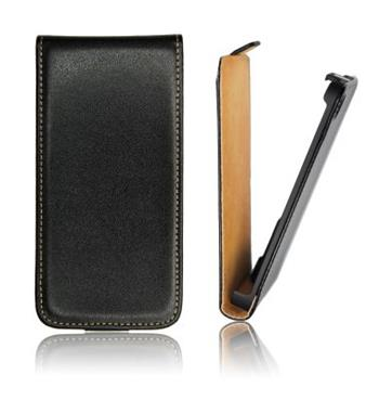 ForCell Slim Flip Pouzdro Black pro Samsung S5690