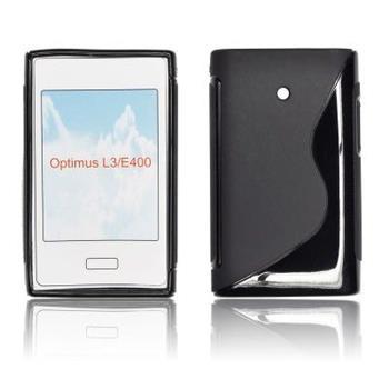 ForCell Zadní Kryt Lux S Black pro LG E400 L3