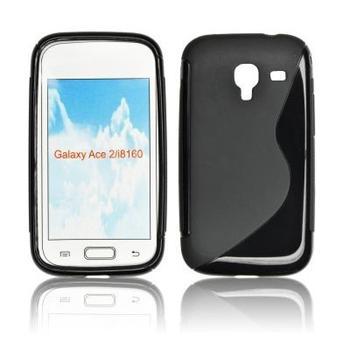ForCell Zadní Kryt Lux S Black pro Samsung i8160