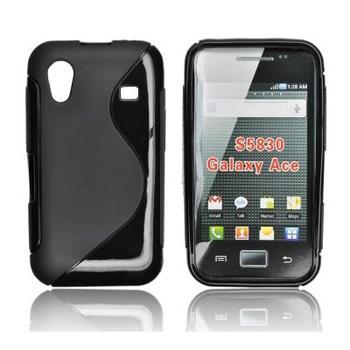 ForCell Zadní Kryt Lux S Čierne pro Samsung S5830