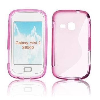 ForCell Zadní Kryt Lux S Pink pro Samsung S6500