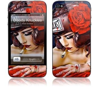 GelaSkins Bloody Knuckles iPhone 4 / 4S