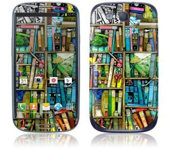 GelaSkins Bookshelf Samsung Galaxy SIII i9300