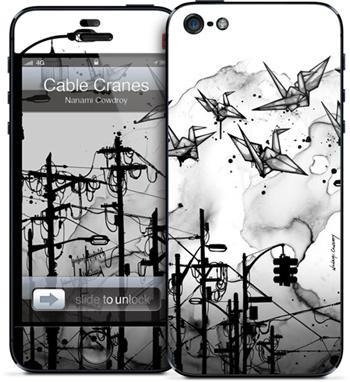 GelaSkins Cable Cranes iPhone 5/5S/SE