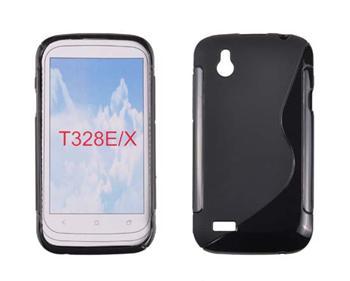 Gumené puzdro HTC Desire X, Čierne
