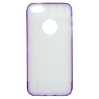 Gumené puzdro iPhone 5/5s/SE fialová