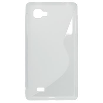 Gumené puzdro LG Optimus 4X HD transparentné