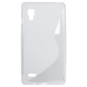 Gumené puzdro LG Optimus L9 transparentne