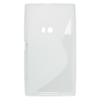Gumené puzdro Nokia Lumia 920 transparentné