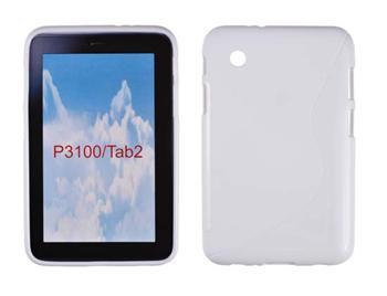 "Gumené puzdro Samsung Galaxy Tab P3100/P3110 7,0"" Biele"