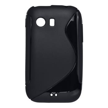 Gumené puzdro Samsung Galaxy Y S5360 čierne