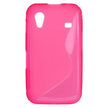 Gumené puzdro Samsung S5830 Galaxy Ace ružové