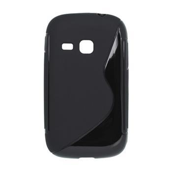 Gumené puzdro Samsung S6310 Galaxy Young Čierne