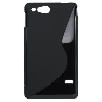 Gumené puzdro Sony Xperia Go ST27i čierne