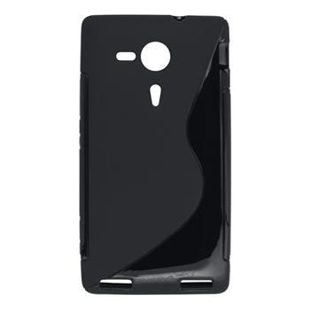 Gumené puzdro Sony Xperia SP C5303 čierne