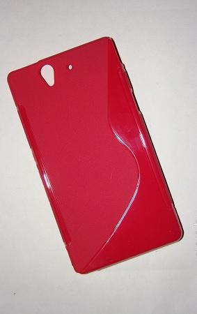 Gumené puzdro Sony Xperia Z C6603 Oranžové