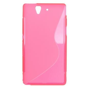Gumi tok Sony Xperia Z C6603 rózsaszín