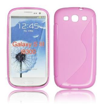 Gumové puzdro Samsung Galaxy S3 i9300/S3 Neo ružové