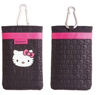 Hello Kitty Mobile Bag Pouzdro Black