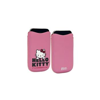 HKBBPUP4P Hello Kitty Pastel4 Universal Pouzdro Pink (EU Blister)
