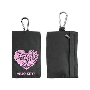 HKPNP5BL Hello Kitty Vertical Pastel5 Universal Pouzdro Čierne (EU Blister)