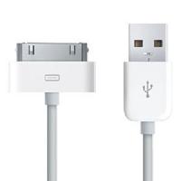 iPhone 4, 3G, 3GS Datový Kabel White OEM (Bulk)